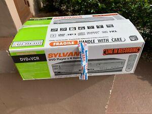 **BRAND NEW**Sylvania DV220SL8 VCR DVD Combo Player!!