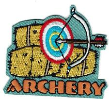 Girl Boys Bale ARCHERY GIRLS Bow Arrow Class Patches Crests Badges GUIDES SCOUT