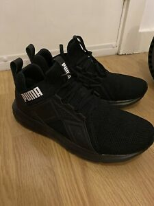 Mens Puma Black Trainers UK 11 - Gay Interest Scally
