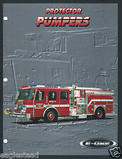 Fire Equipment Brochure - E-One - Protector Pumpers Lombard FD et al 1993 (DB226