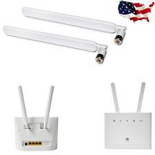 2X 4G LTE External Antenna SMA Male Connector for Huawei B593/B880/B890/E5186 US