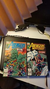 Avengers West Coast #61& 62 Nexus, Time Keepers, WandaVision VF-NM