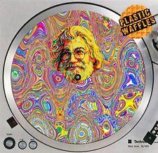"The Grateful Dead Jerry #1 Slipmat Turntable 12"" LP Record Player DJ Audiophile"