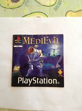 Ps1 Medievil Manual Only