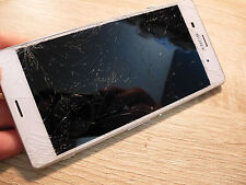 Téléphone Sony Xpéria Z3 blanc (Hors Service)