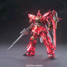 GUNDAM - 1/144 MSN-06S Sinanju Titanium Finish Model Kit HGUC Bandai