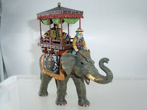 KING AND COUNTRY SR001 CHINESE SILK ROAD CEREMONIAL PARADE ELEPHANT + RIDER
