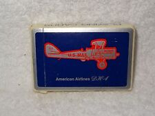 American Airlines DH-4 US Mail Playing Cards