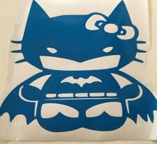 Hello kitty batgirl ,car decal/ sticker for windows, bumpers , panels