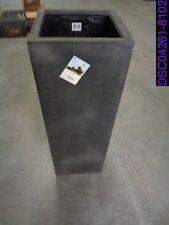 Chipped: Pottery Pots Fiberstone Yang Black Planter P/N E1005-S1-01
