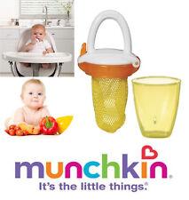 Baby Fresh Food Mesh Feeder Teat Dummy Gets Nutrition with No Risk Munchkin Delx