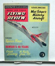 Dec 1960 ROYAL AIR FORCE FLYING REVIEW Magazine
