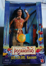 BARBIE DISNEY MATTEL DOLL COLLETOR cocoum A. KEN POCAHONTAS COLLEZIONE NRFB