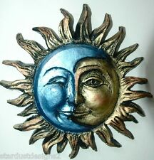 SUN/MOON  plaque  outdoor version 8 inches across