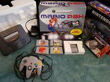 Nintendo 64 N64 Konsole Set - original Verpackung Spiele Rumble Pak