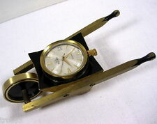 RARE MONTRE DE BUREAU BULLER BROUETTE ANCIENNE COLLECTION VERS 1950