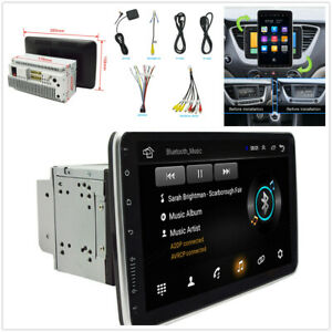 Android 9.1 10.1in 2Din Car GPS FM Stereo Radio WiFi Bluetooth MP5 Player 16+1GB