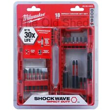 Milwaukee 48324403 18pce Shockwave Impact Driver Bit Set 48-32-4403