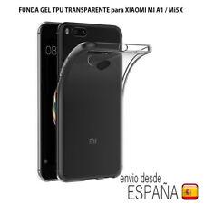 Funda gel transparente TPU para Xiaomi MI A1 / MI5X. Envio ordinario gratis!!