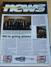 BRITISH RACING CLUB MAGAZINE FEB 1995 BRSCC NEWS RACEPLANNER ARCHIVES