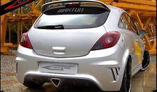 Opel Corsa D 3 Porte - Paraurti Posteriore Tuning VETRORESINA modello OPC LOOK