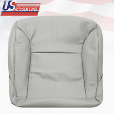2003 - 2006 Lexus ES300 - ES330 Driver Bottom Perforated Leather Seat Cover Gray