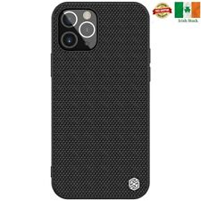 For Apple iphone 12,12 Pro Genuine Nillkin Fiber Case Cover
