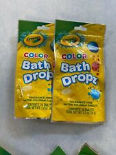 Crayola Bath Dropz pack of 2 New In Pack