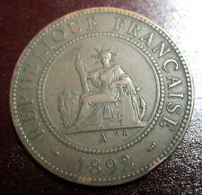 piece de monnaie indochine francaise 1892