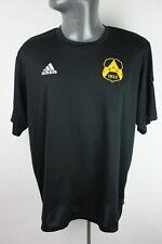More details for bk astrio adidas sweden swedish football training shirt trikot mens l large f472