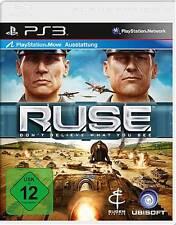 Playstation 3 RUSE R.U.S.E. Echtzeit-Strategiespiel Neuwertig