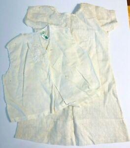 Vintage Handmade Baby Infant Clothes Dress Sleepwear - Feltman Brothers  *Lc