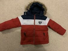 Boys Tommy Hilfiger Quilted Coat Age 4
