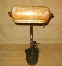 "Original Handel Desk Lamp - Trough Shade / 16"" Tall /"