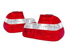 DEPO OE Euro Red/Clear 4PCS Rear Tail Lights For 02-05 BMW E46 3 Series 4D Sedan