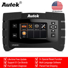 Automotive All Systems OBDII Diagnostic Scanner Engine ABS SRS EPB Code Reader
