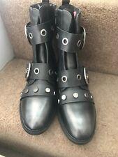 La Bottine Souriante Boots Studded Ankle Boots EU 38 UK 5 PUNK GOTH