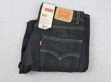 NEW Levis Womans 569 Loose Straight Dark Blue Denim Jeans NWT 16 reg 28x28