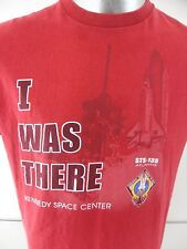 NASA Space Shuttle Atlantis STS-135 I Was There Final Voyage Large T Shirt Wear