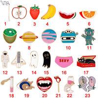 Lovely Cute Cartoon Enamel Lapel Collar Corsage Brooch Pin Fashion Jewelry Gifts