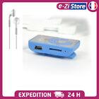 LECTEUR MP3 AVEC CLIP AVEC OU SANS CARTE MICRO SD TF 2Go/4Go + écouteurs + câble