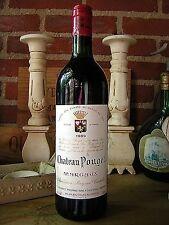 vin weine wijn wine Chateau Pouget 1989 Margaux Grand Cru Classe 29 Ans Anni.