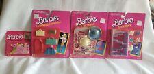"""Barbie Accessaries """"Hat Stand, Shoe Rack, 18 Hangers, Handbag Collection"""""""