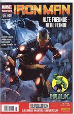 Iron Man/Ausgabe 5/Alte Freunde-Neue Feinde/Revolution/Comic /Top Zustand