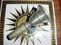 EARLY VINTAGE TROMBONE MOUTHPIECE SHORT SHANK ALSO BARITONE MOUTHPIECE