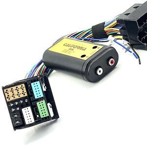 High Low Converter + Remote Leitung für Quadlock für Audi Seat Skoda VW ab 2010