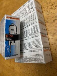 10 Sealed Packages 10 Watt 12V Halogen Light Bulbs G4 Base Bi-Pin 10T3Q/CL