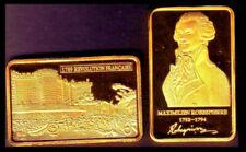 Médailles françaises en or