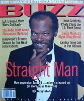 SAMUEL L. JACKSON  February 1996 BUZZ Magazine