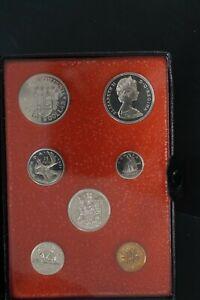 Canada 1971 double $1 copper nickel proof set (d036)